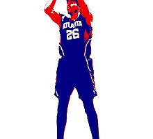 Kyle Korver -NEW- Stencil Design by nbatextile
