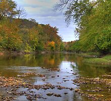 Kickapoo State Park - Vermillion River #2 by Jeff VanDyke