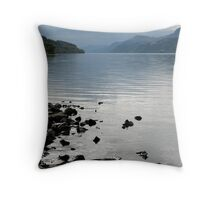Flat Calm Throw Pillow