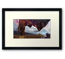 What Happen Here? Framed Print