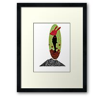 Mystery Rabbit  Framed Print
