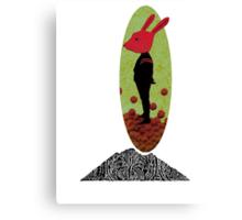 Mystery Rabbit  Canvas Print