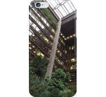 Indoor Garden, Atrium, Ford Foundation, New York City iPhone Case/Skin