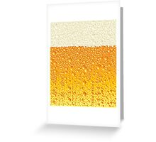 Ice Cold Beer Greeting Card
