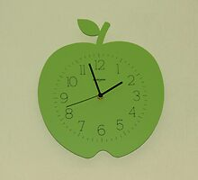Tick, Tock - Apple Clock by BlueMoonRose