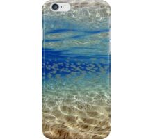 Underwater reflection iPhone Case/Skin