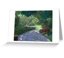 Sun/Moon Light Rays Greeting Card