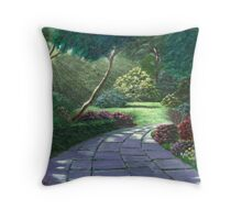 Sun/Moon Light Rays Throw Pillow