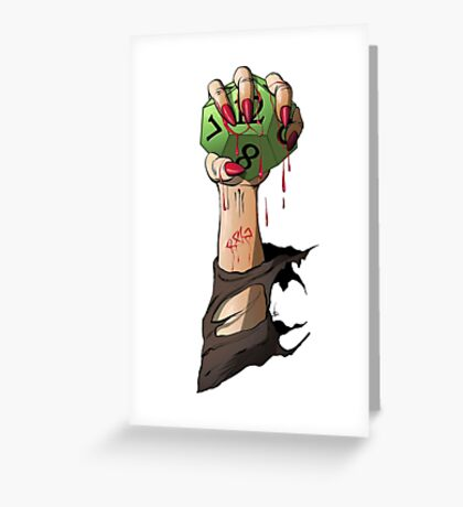 RPG Vampire Greeting Card