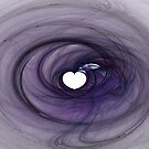 Purple Heart-Available As Art Prints-Mugs,Cases,Duvets,T Shirts,Stickers,etc by Robert Burns