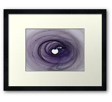 Purple Heart-Available As Art Prints-Mugs,Cases,Duvets,T Shirts,Stickers,etc Framed Print