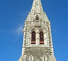 Christchurch Cathedral 2008 by kalaryder