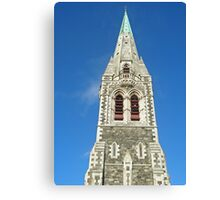 Christchurch Cathedral 2008 Canvas Print