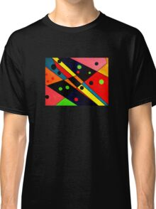 Retro Abstract Classic T-Shirt
