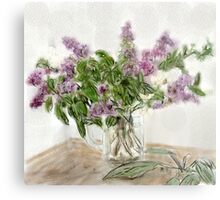 Liliac Ladies  Metal Print