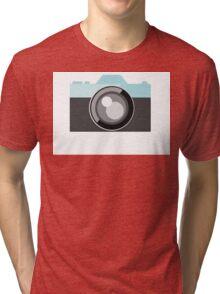 Vector Camera Tri-blend T-Shirt