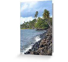 Hawaii Scenery Greeting Card