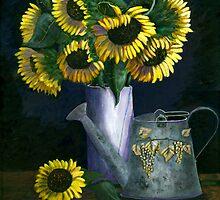 Sunflowers by Sarah Jurgens