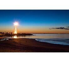 St Kilda Lighthouse  Photographic Print