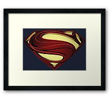 SUPERMAN | MAN OF STEEL CLASSIC Framed Print