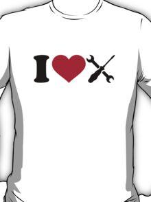 I love screwdriver tools T-Shirt