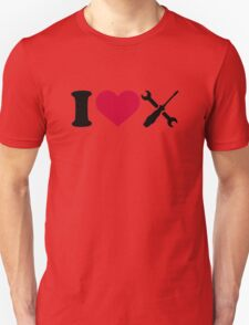 I love screwdriver tools T-Shirt