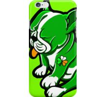 Irish Boston Bull Terrier Puppy  iPhone Case/Skin