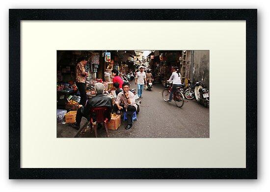 Street life by Jenny Hall