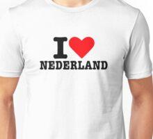I love Nederland Unisex T-Shirt