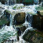 Coe Lake Falls by CindyG
