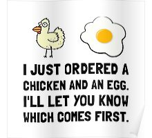 Chicken And Egg Poster