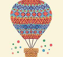 Hot Air Balloon by haidishabrina