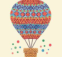 Hot Air Balloon by haidishabrina