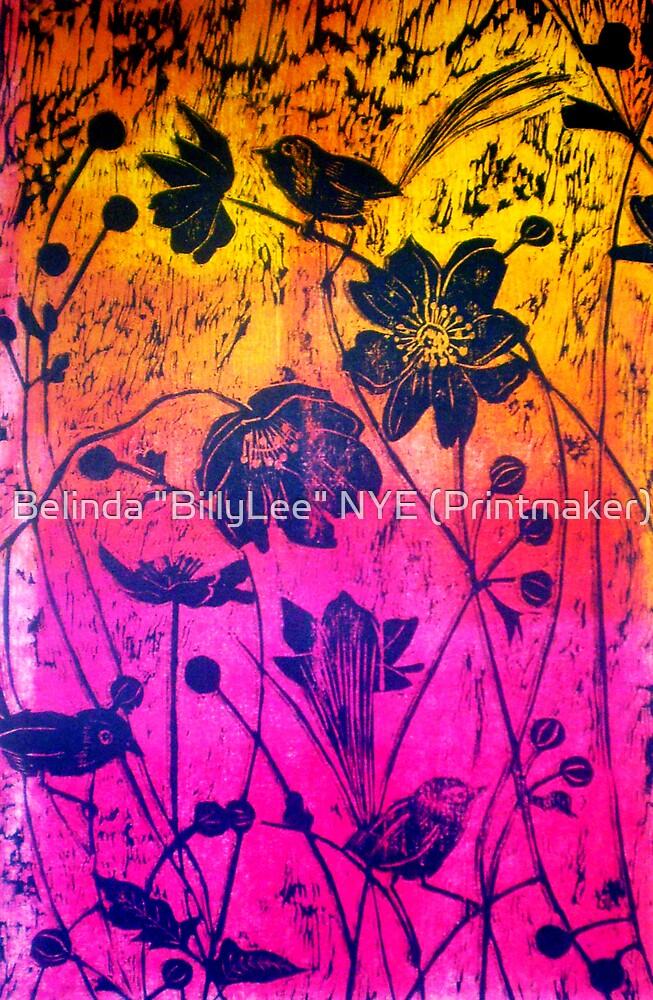 """Woodcut Print 1 by Belinda """"BillyLee"""" NYE (Printmaker)"""