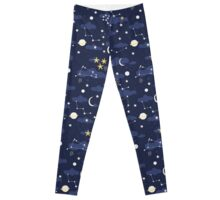 cosmos and stars Leggings