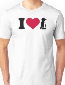 I love Penguin Unisex T-Shirt