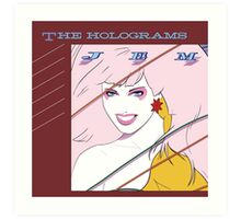 Jem and The Holograms Album Cover Art Print
