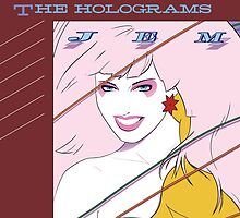 Jem and The Holograms Album Cover by Pipper Digs