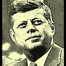 JOHN F KENNEDY  by OTIS PORRITT
