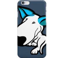 Aqua Ears English Bull Terrier Puppy iPhone Case/Skin