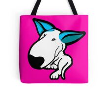 Aqua Ears English Bull Terrier Puppy Tote Bag