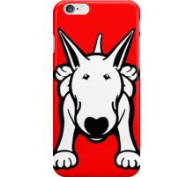 Updated English Bull Terrier Sprawl iPhone Case/Skin