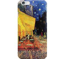 The Cafe Terrace on the Place du Forum, Arles, at Night,  Vincent van Gogh iPhone Case/Skin