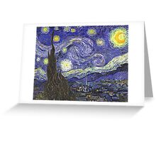Vincent van Gogh, Starry Night.  Greeting Card