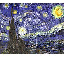 Vincent van Gogh, Starry Night.  Photographic Print