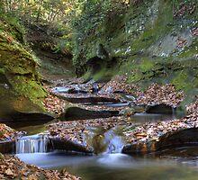 Fall Creek Gorge - Potholes #1 by Jeff VanDyke