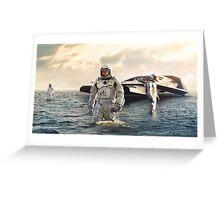 Interstellar- Mountains/Water Skins Greeting Card