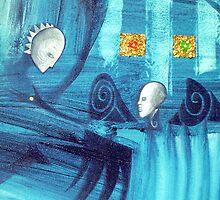 blue spirits dance by arteology