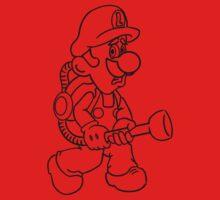 Luigi's Mansion Kids Clothes