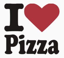 I love Pizza One Piece - Short Sleeve